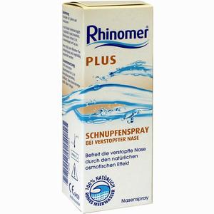 Abbildung von Rhinomer Plus Schnupfenspray Nasenspray 20 ml