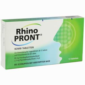 Abbildung von Rhinopront Kombi Tabletten  12 Stück