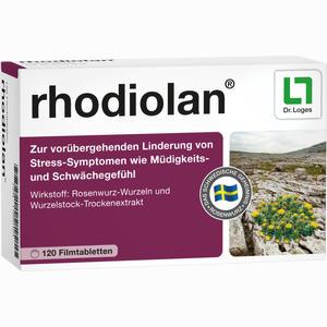 Abbildung von Rhodiolan Filmtabletten 120 Stück