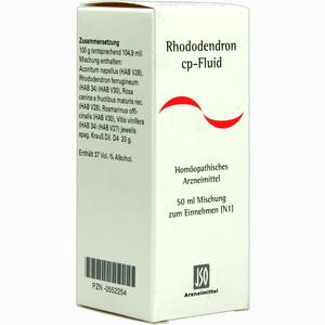 Abbildung von Rhododendron Cp Fluid Liquidum 50 ml