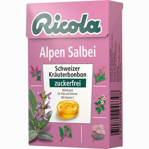 Abbildung von Ricola Alpen Salbei Kräuterbonbons Ohne Zucker  50 g