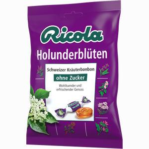 Abbildung von Ricola Holunderblüten Ohne Zucker Beutel Bonbon 75 g