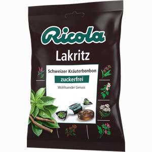 Abbildung von Ricola Lakritz Ohne Zucker Bonbon 75 g