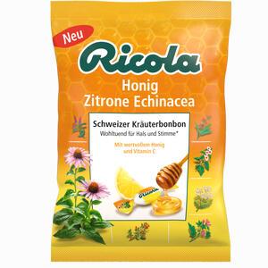 Abbildung von Ricola mit Zucker Beutel Echinacea Honig Zitrone Bonbon 75 g