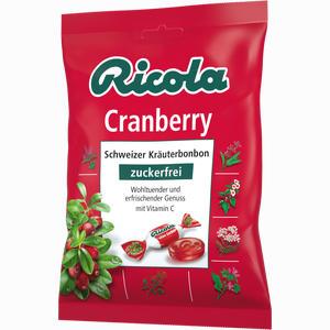 Abbildung von Ricola Ohne Zucker Cranberry Bonbon 75 g
