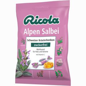 Abbildung von Ricola Salbei Alpen Salbei Bonbons Ohne Zucker  75 g