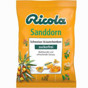 Abbildung von Ricola Sanddorn Ohne Zucker Beutel Bonbon 75 g