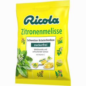 Abbildung von Ricola Zitronenmelisse Ohne Zucker Beutel Bonbon 75 g