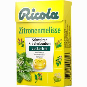 Abbildung von Ricola Zitronenmelisse Ohne Zucker Box Bonbon 50 g