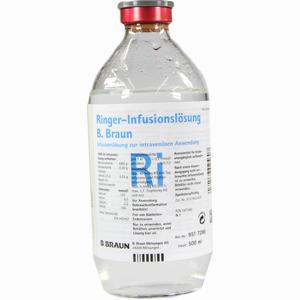 Abbildung von Ringer Infusionslösung B.braun Glas  500 ml