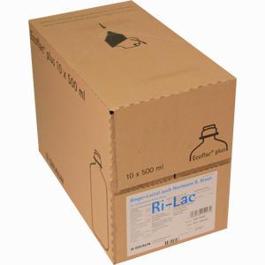 Abbildung von Ringer- Lactat Nach Hartmann B. Braun Ecoflac Plus Infusionslösung 10 x 500 ml