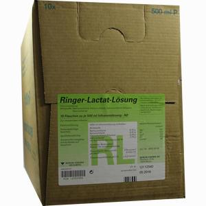 Abbildung von Ringer- Lactat Plastik Infusionslösung 10 x 500 ml