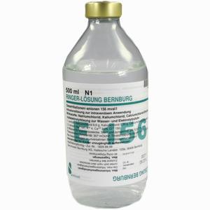 Abbildung von Ringer Loesung Bernburg Infusionslösung 500 ml