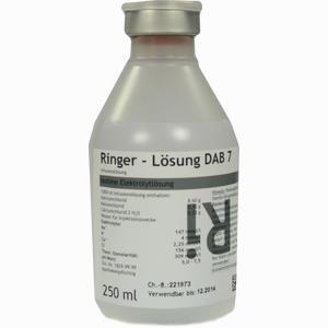 Abbildung von Ringer- Lösung Dab 7 Plastik Infusionslösung 250 ml