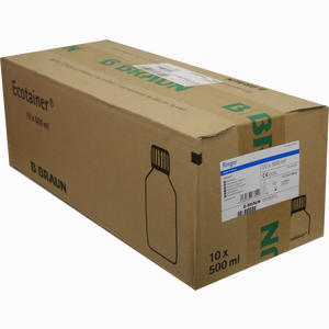 Abbildung von Ringerlösung Spüllösung B.braun Ecotainer  10 x 500 ml