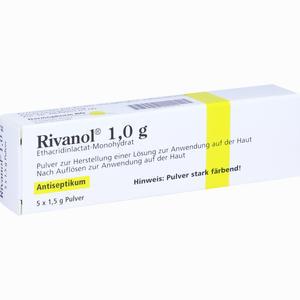 Abbildung von Rivanol 1.0g Pulver  5 Stück