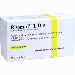 Abbildung von Rivanol 1.0g Pulver  20 Stück