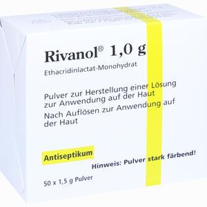 Abbildung von Rivanol 1.0g Pulver  50 Stück