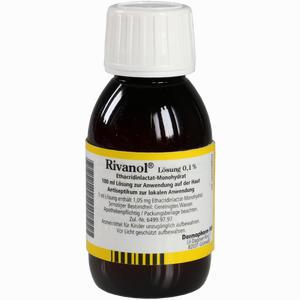 Abbildung von Rivanol Lösung 0.1%  100 ml