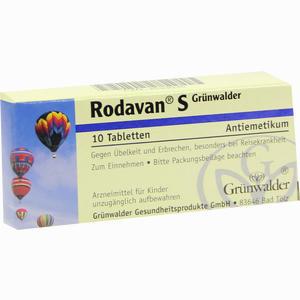 Abbildung von Rodavan S Grünwalder Tabletten 10 Stück