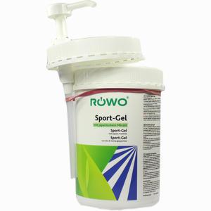 Abbildung von Röwo Sport-gel im Pumpspender Gel 1 l