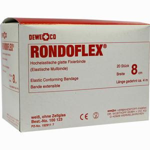Abbildung von Rondoflex Binde Weiss 4m X 8cm  20 Stück