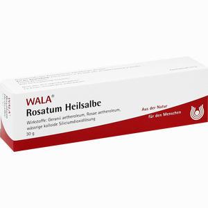 Abbildung von Rosatum Heilsalbe  30 g