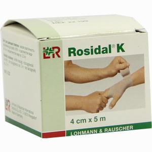 Abbildung von Rosidal K Kurzzug- Binde 4cmx5m  1 Stück