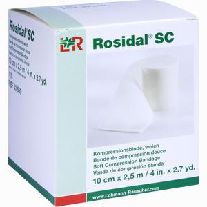 Abbildung von Rosidal Sc Kompressionsbinde Weich 10cmx2.5m  1 Stück