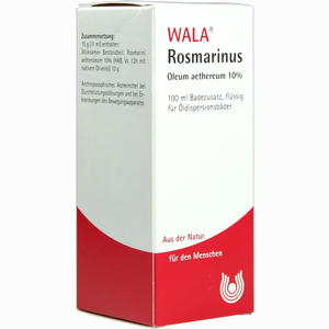 Abbildung von Rosmarinus Oleum Aeth 10% Öl 100 ml