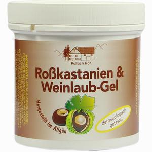Abbildung von Rosskastanien+weinlaub Gel Gel 250 ml