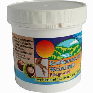 Abbildung von Rosskastanien+weinlaub Pflege-gel Gel 250 ml