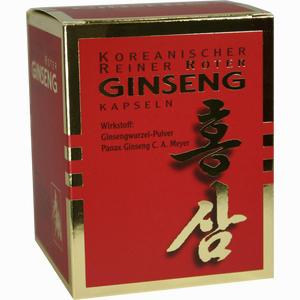 Abbildung von Roter Ginseng 300mg Kapseln  200 Stück