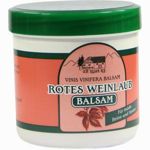 Abbildung von Rotes Weinlaub Balsam  250 ml
