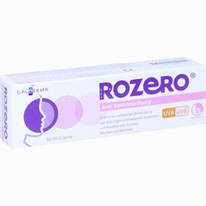 Abbildung von Rozero Anti Gesichtsrötung Creme 30 ml