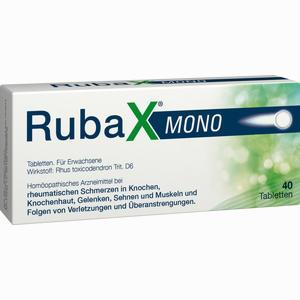 Abbildung von Rubax Mono Tabletten 40 Stück