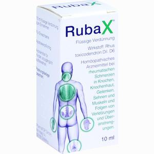 Abbildung von Rubax Tropfen 10 ml