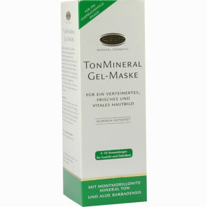 Abbildung von Rugard Tonmineral Gel- Maske Gesichtsmaske 100 ml