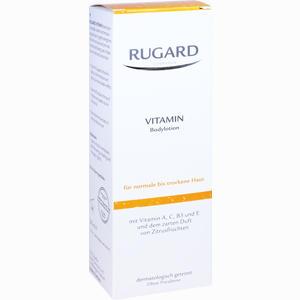 Abbildung von Rugard Vitamin Body Lotion Creme 200 ml