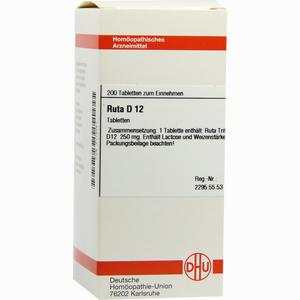 Abbildung von Ruta D12 Tabletten 200 Stück