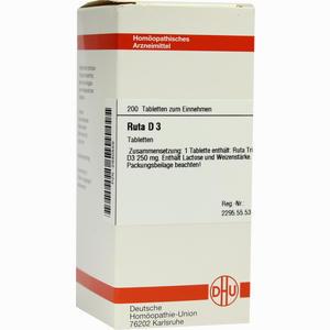 Abbildung von Ruta D3 Tabletten 200 Stück