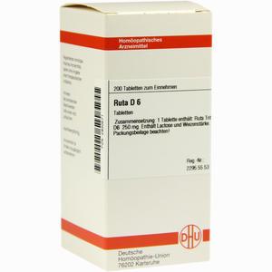Abbildung von Ruta D6 Tabletten 200 Stück