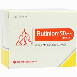 Abbildung von Rutinion Tabletten 250 Stück