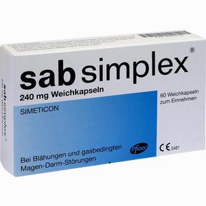 Abbildung von Sab Simplex 240mg Weichkapseln  60 Stück