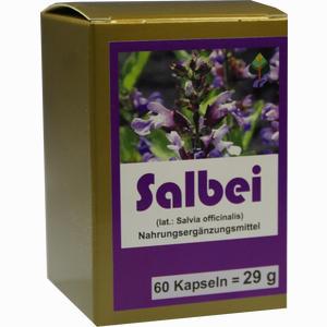 Abbildung von Salbei Kapseln Aalborg pharma 60 Stück