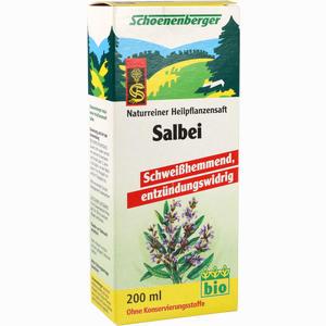 Abbildung von Salbei Schoenenberger Heilpflanzensäfte Saft 200 ml
