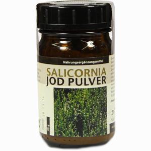 Abbildung von Salicornia Jod Pulver  35 g