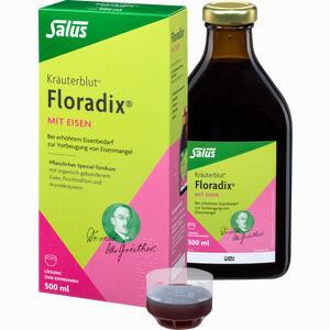 Abbildung von Salus Kräuterblut Floradix mit Eisen Tonikum  500 ml