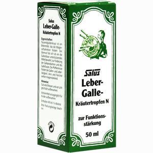 Abbildung von Salus Leber- Galle Kräutertropfen N  50 ml