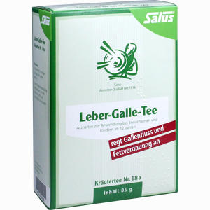Abbildung von Salus Leber-galle-tee Nr. 18a Tee 85 g